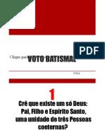 voto batismal
