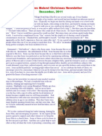 Jesus Loves Malawi Christmas Newsletter 2011