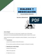 Diálogo y negociación