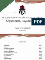 Arguments Groupe Senateurs Special Compilation