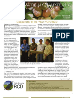 Fall 2009 Conservation Quarterly - Yolo County Resource Conservation District