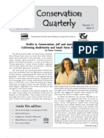 Winter 2008 Conservation Quarterly - Yolo County Resource Conservation District