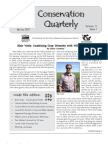 Spring 2007 Conservation Quarterly - Yolo County Resource Conservation District