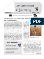 Summer 2005 Conservation Quarterly - Yolo County Resource Conservation District