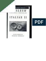 Italian II Booklet