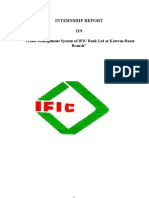 Credit Management System of IFIC Bank Ltd