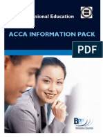ACCA Info Pack June 2009gst