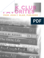 Book Club Catalog