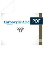 Carboxylic Acids!