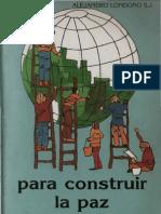 DINAMICAS Para Construir La Paz
