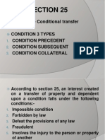 Conditional Transfer