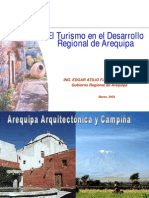 Dircetur Arequipa Turismo Extranjero Nacional