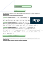Mat Operacoes Entre Polinomios