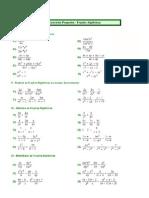 Mat Exercicios Fracoes Algebricas