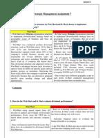 Strategic Management Assignment 7