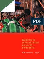 GUI2001 community-based ecotourism development _WWF