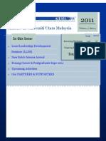 AIESEC UUM Newsletter 2011 Volume 3 Issue 5