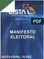 Manifesto Eleitoral