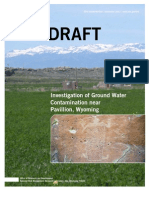 EPA Report Groundwater Contamination