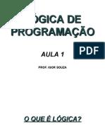 Log Prog Aula 01