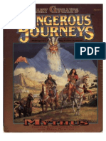 Gary Gygax Dangerous Journeys Mythus - Mythus - GDW 5000 - OCR