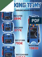 ARRANCADORES KING TONY