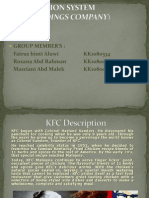 management information system of kfc pdf