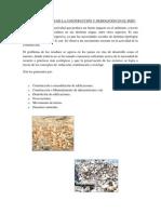 RESIDUOS SÓLIDOS DE LA CONSTRUCCIÓN Y DEMOLICIÓN EN EL PERU