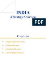 INDIA a Strategic Overview