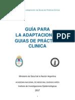 Guias Para La Adaptacion de Guias de Practica Clinica