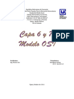 Capa 6 y 7 Modelo Osi Fracier Aro Trabajo