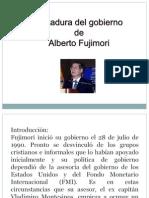 Emerson y Nuria - Gobierno de Fujimori