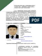 Curriculum-carlos Alberto Toribio Valenzuela
