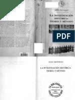 Aróstegui J [1995] La investigación histórica