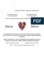 Convite Casamento Romantico Romitec Petalas