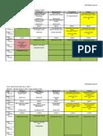 Unit 2 Schedule