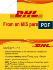 DHL Final MIS perspective