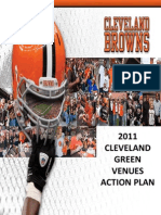 2011 Cleveland Browns Green Venues Action Plan