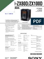 HCD-ZX80DZX100D