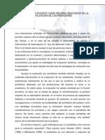 Docente_recurso_innovador El Port a Folios Como Herramienta de Evaluacion