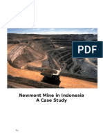 Newmont Mine in Indonesia
