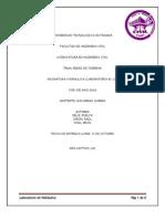 Informe de Lab de Hidraulica