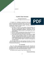 Maxim Kontsevich- Vassiliev's knot invariants