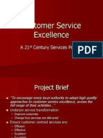 Customer Service Excellence Project