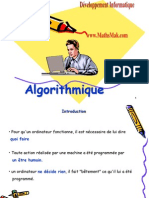 Algorithmique Cours Et Exercices