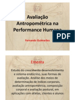 Avaliação Antropométrica na Performance Humana 2