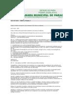Institui a Política Municipal do Meio Ambiente e dá outras providências