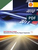 Shell Pak Qtr Report Sep11