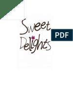 Sweet Delights Cookbook
