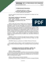 Convenio Personal Laboral AYto. Morales Del Vino. CNT